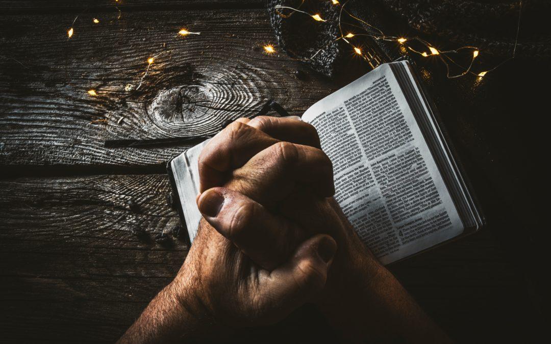 Jumalalla on missio ja Hän aloittaa rukouksesta. Aina.